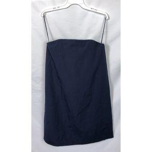 NWT Alice + Olivia Navy Blue Strapless Dress